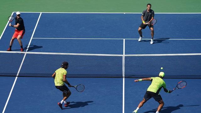 Rojer naar halve finales, Haase en Middelkoop onderuit in dubbelspel US Open