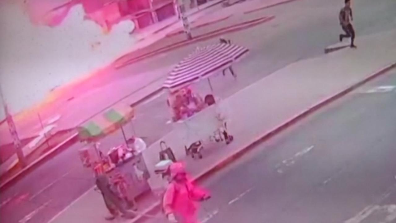 Tankwagen vol vloeibaar aardgas explodeert in Lima