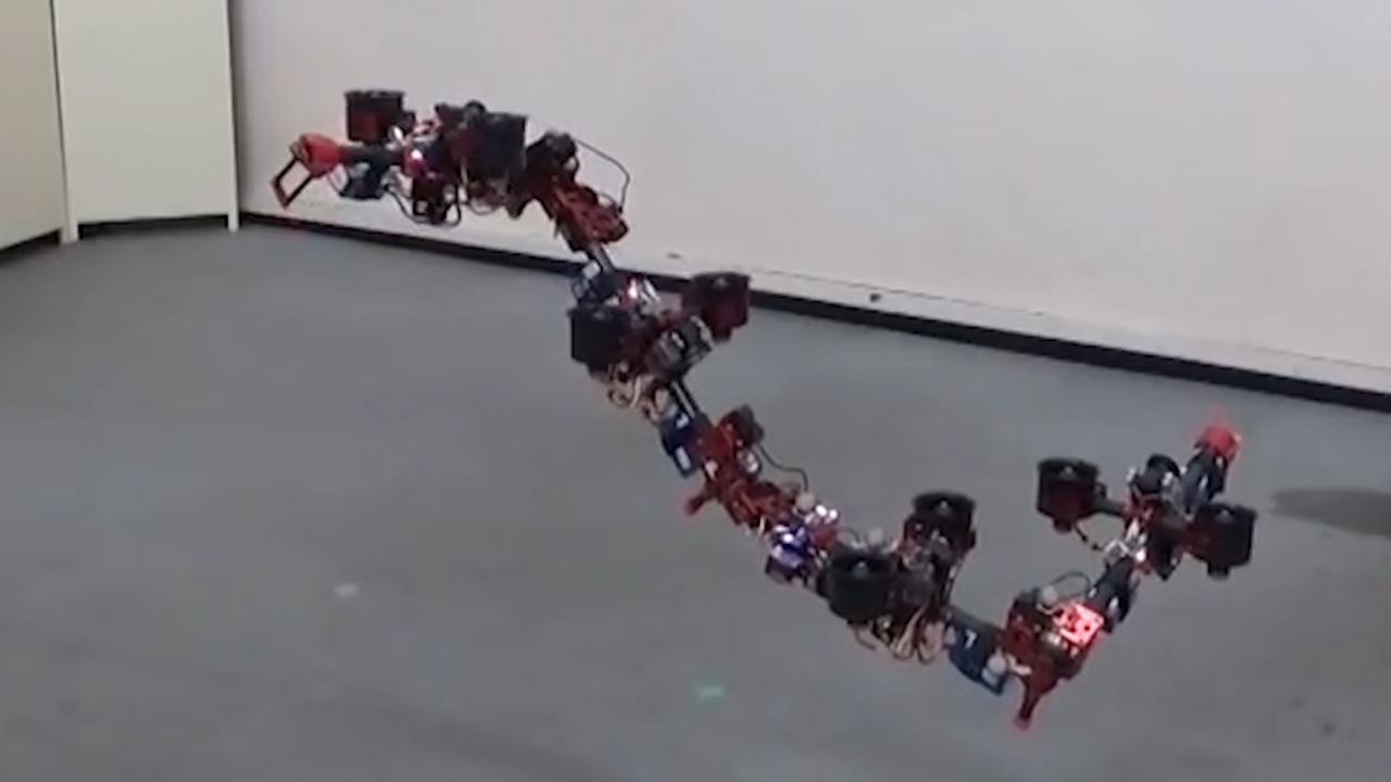 'Draakdrone' kan transformeren in de lucht
