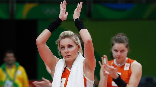 Dijkema vindt dat volleybalsters medaille verdienen op Spelen