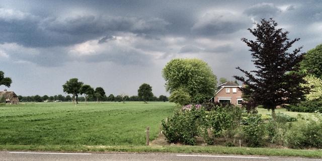 Het weer: Vooral in het zuiden buien