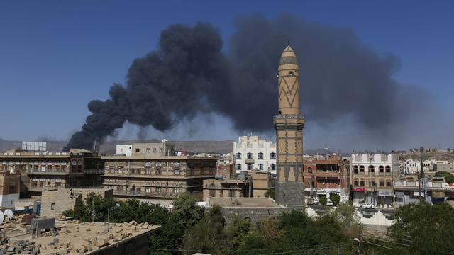 Bombardementen voor begin bestand Jemen