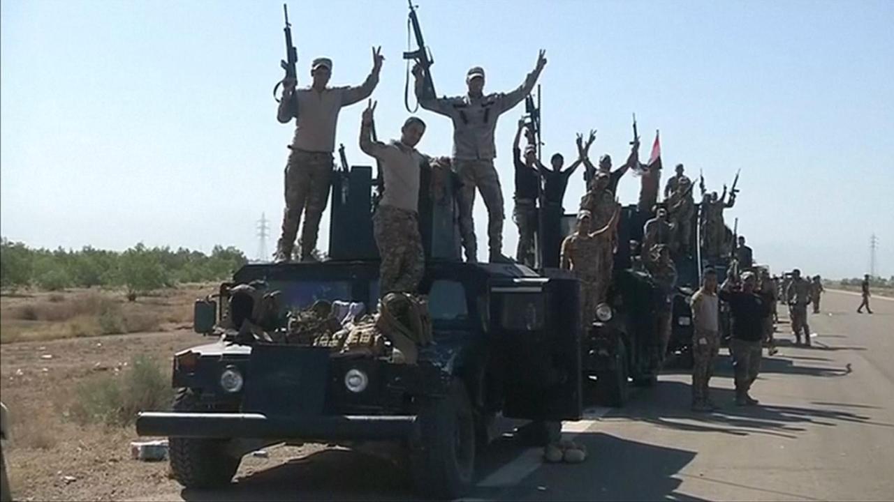 Leger Irak staat klaar voor aanval op Fallujah