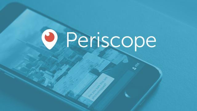 Periscope zendt 200 miljoen keer uit in eerste jaar