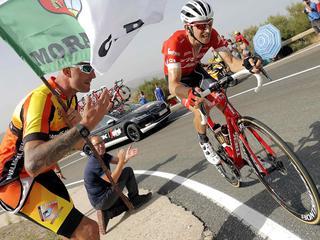 Nederlander is meest strijdlustige renner in elfde Vuelta-rit