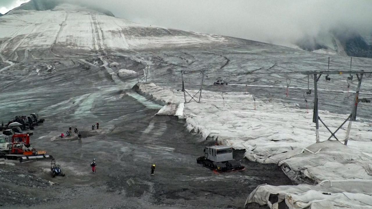 Zomerskigebied Italië gesloten door smeltende gletsjers