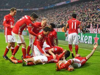 Duitsers winnen met 5-1 in achtste finale Champions League