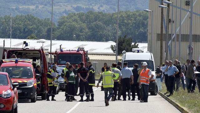 'Verdachte aanslag Frankrijk bekent baas te hebben onthoofd'