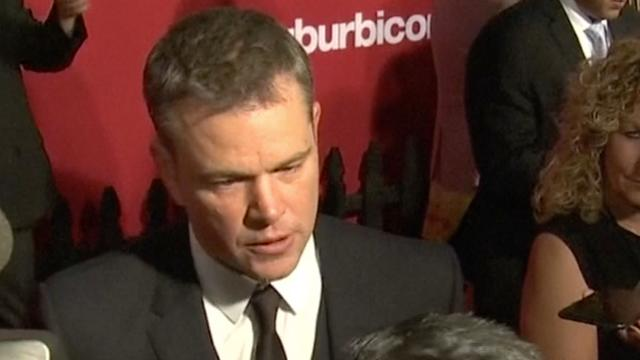 Matt Damon en George Clooney over vermeend misbruik Weinstein