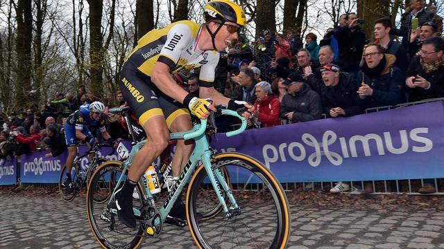 Vier Nederlanders ondersteunen kopman Vanmarcke in 'Vlaanderen'