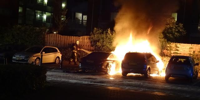 Minder autobranden tijdens jaarwisseling dan voorgaande jaren