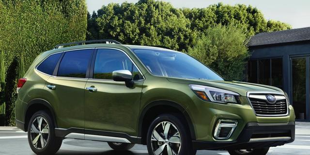 Meer veiligheidssystemen voor nieuwe Subaru Forester
