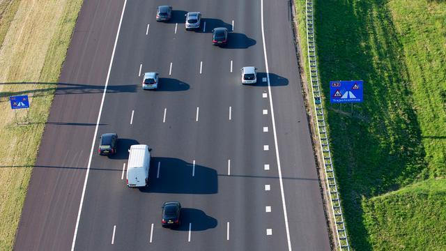 Dynamische maximumsnelheid op A2 toegestaan