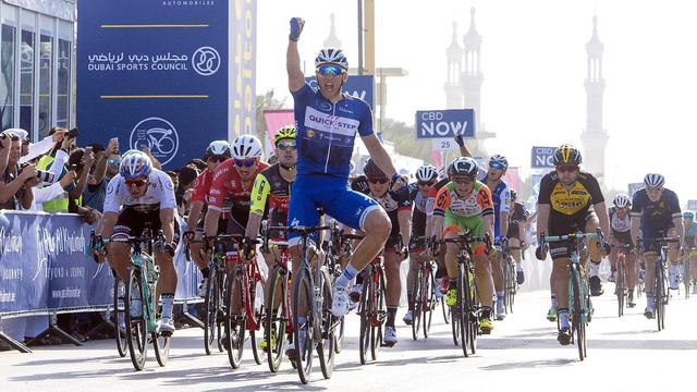Groenewegen opnieuw geklopt door Kittel in Ronde van Dubai
