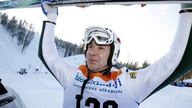 Legendarische en kleurrijke schansspringer Nykänen (55)overleden