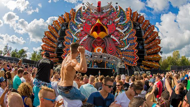 Internationale kunst op Mysteryland