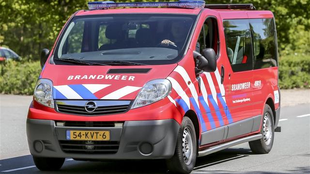 Brandweer rukt uit voor brand bij schuurtje in Roosendaal