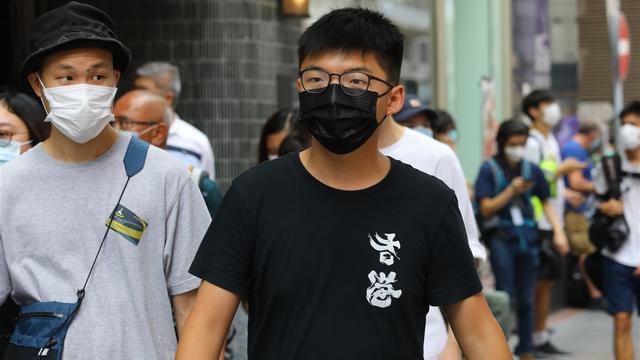 Hongkongse politie arresteert prodemocratische activist Joshua Wong