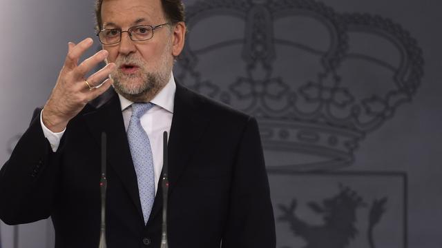 Spaanse premier Rajoy wil regering van nationale eenheid