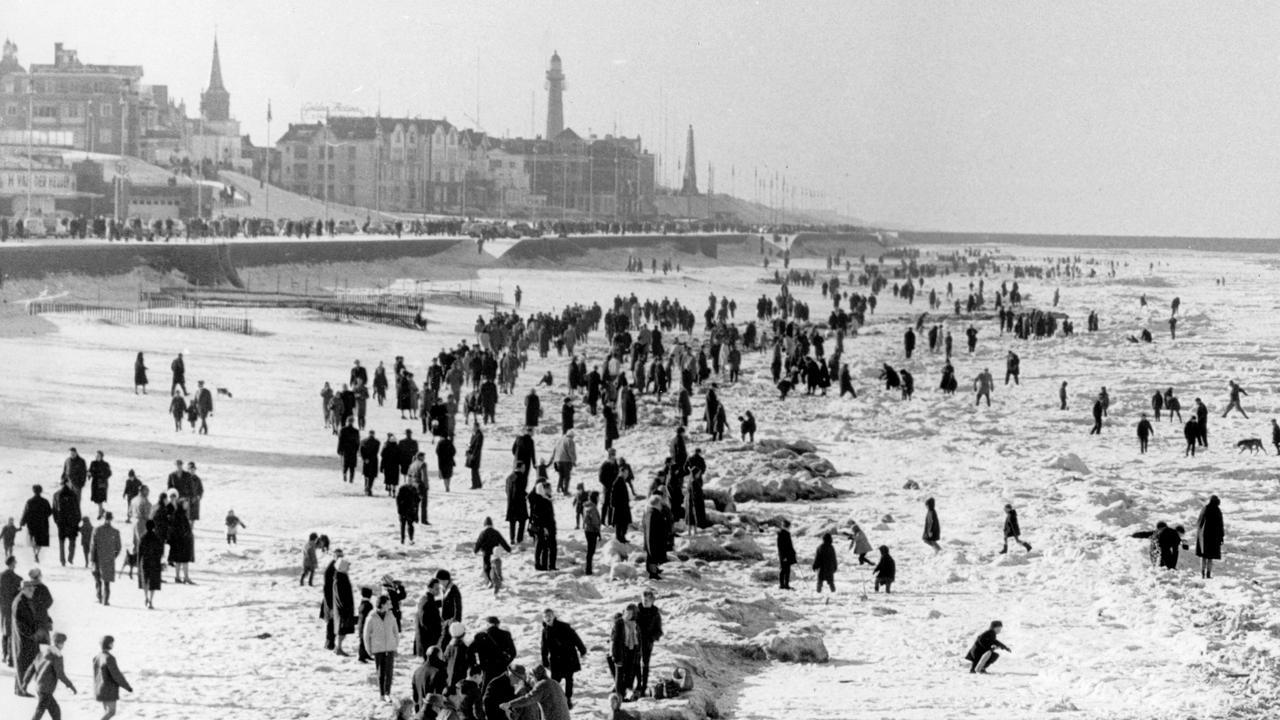 De drie koudste naoorlogse winters van Nederland