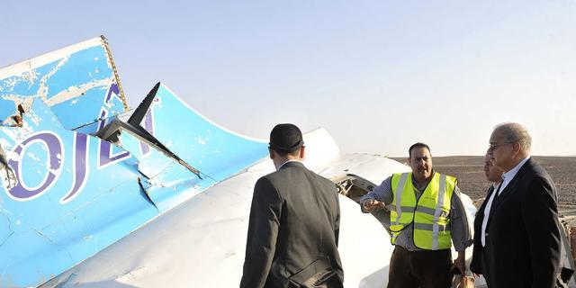 'Zwarte dozen wijzen op bom aan boord Russisch vliegtuig'
