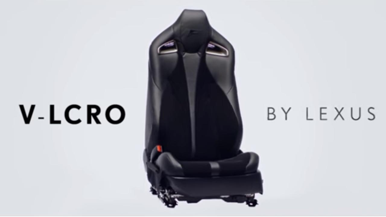 Autostoel met klittenband