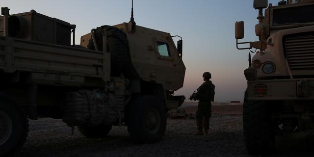 Geen Nederlandse militairen gewond geraakt bij aanval op basis in Erbil