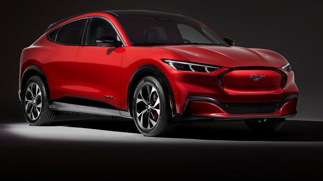 Voorlopige prijzen elektrische Ford Mustang Mach-E bekendgemaakt