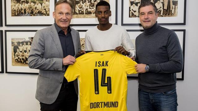 Borussia Dortmund bevestigt komst van Zweeds toptalent Isak