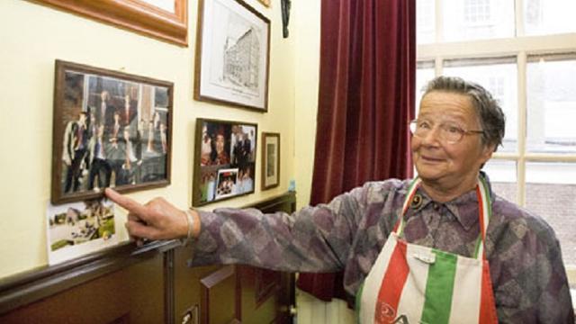 Oud-huishoudster (94) Rapenburg 110 overleden