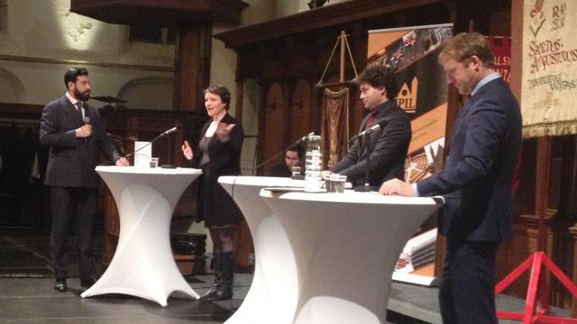 SP, D66 en 925 debatteren in Leiden over verdrag met Oekraïne