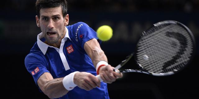 Djokovic en Murray naar finale Masterstoernooi in Parijs
