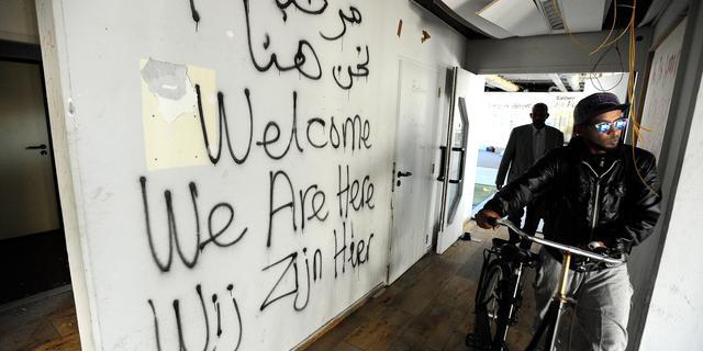 Asielzoekers 'Wij zijn hier' kosten gemeente miljoenen
