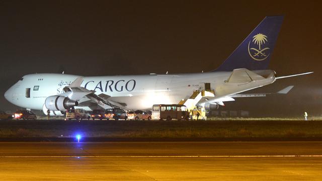 Vrachtvliegtuig van landingsbaan geraakt op vliegveld Maastricht
