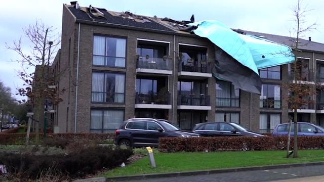 Veel schade door heel Nederland na westerstorm