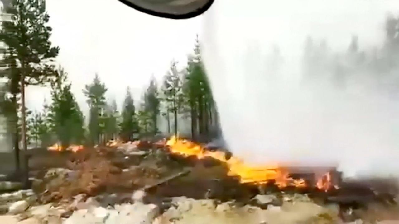 Polen stuurt 150 brandweermannen voor Zweedse bosbranden