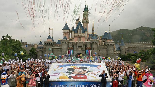 Disneyland Hong Kong verwijdert iconisch kasteel Doornroosje