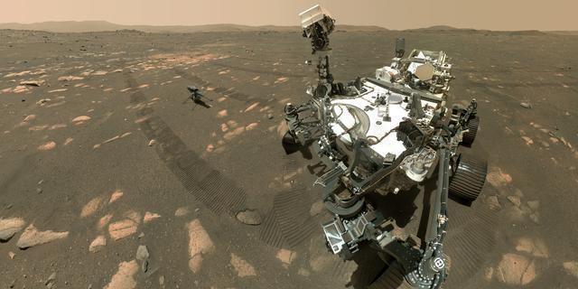 Marsrover produceert voor het eerst zuurstof op andere planeet dan aarde