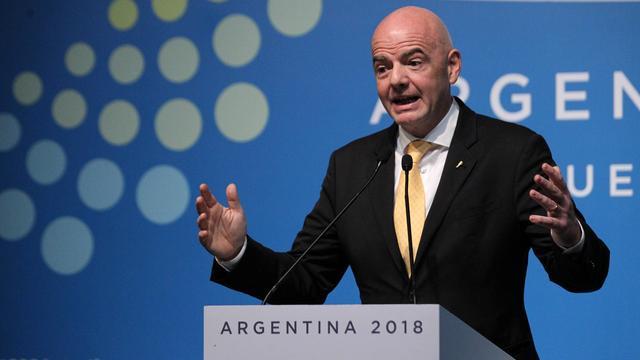 Infantino staat open voor meer organiserende landen bij WK 2022