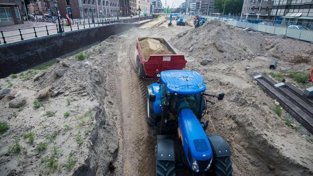 Graafwerkzaamheden toekomstige singel in Utrecht begonnen