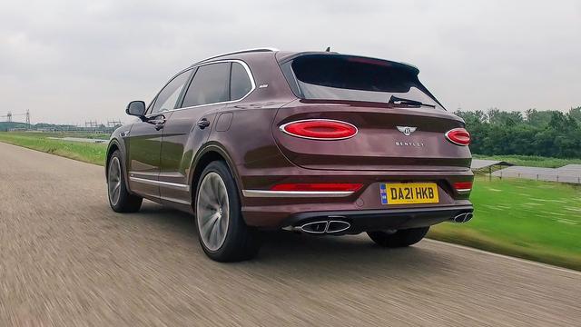 Eerste rijtest: Bentley Bentayga Hybrid