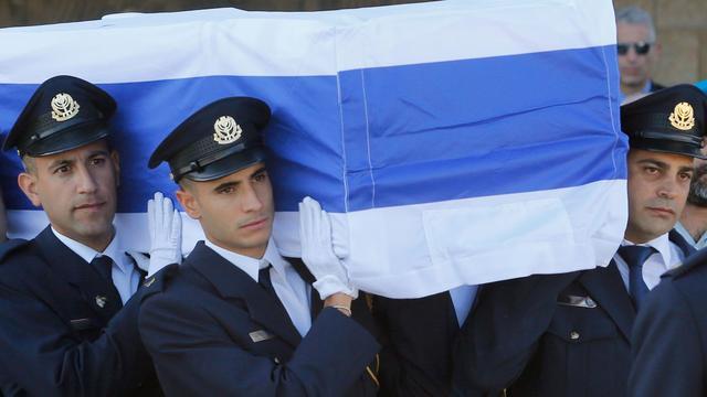 Israëlische oud-president Shimon Peres begraven in Jeruzalem