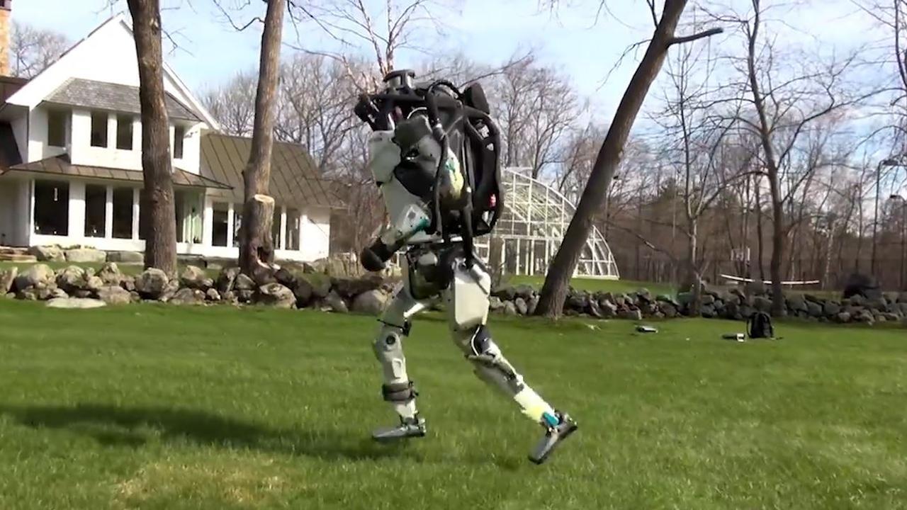 Amerikaans bedrijf maakt robot die kan joggen als mens