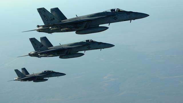 Amerikanen voeren acties tegen IS op