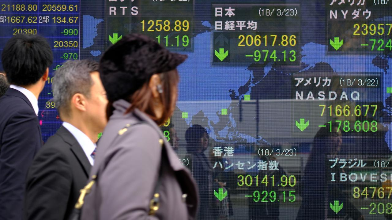 Nikkei closed 5 percent lower due to heavy losses on Wall