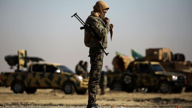 'De strijd is na de val van Raqqa zeker niet voorbij'