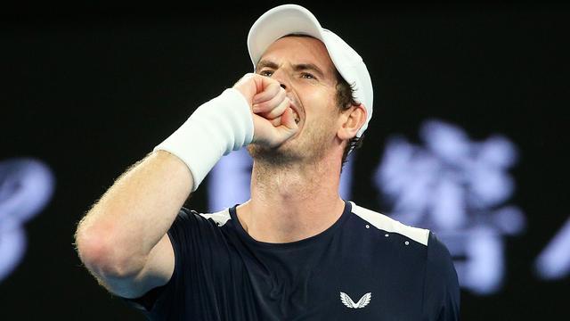 Murray maakt in dubbelspel Queen's rentree na heupoperatie