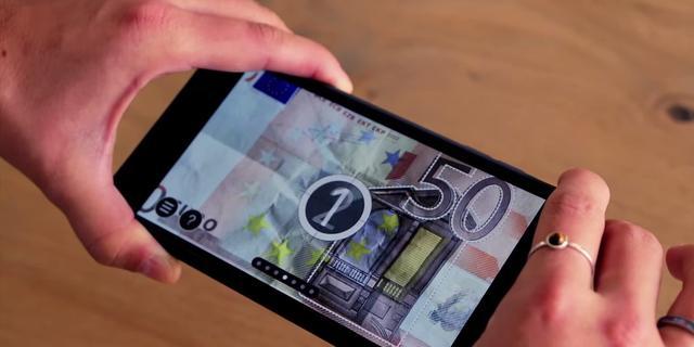 DNB komt met app om briefgeld te controleren