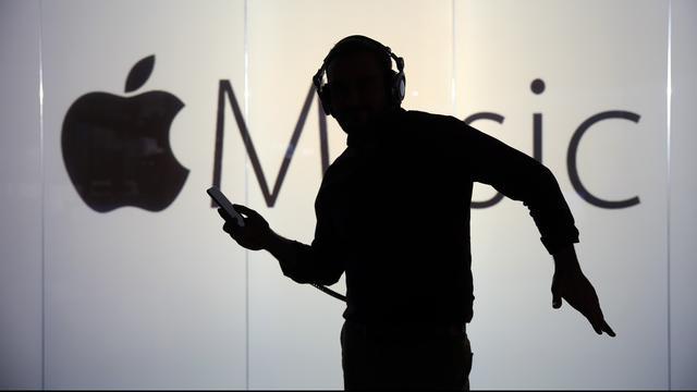 'Apple Music gaat Spotify in VS voorbij met betalende gebruikers'