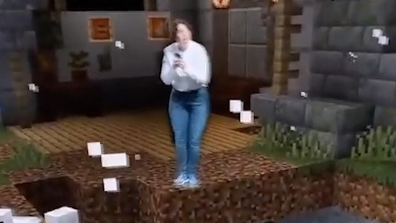 Microsoft demonstreert AR-versie van Minecraft